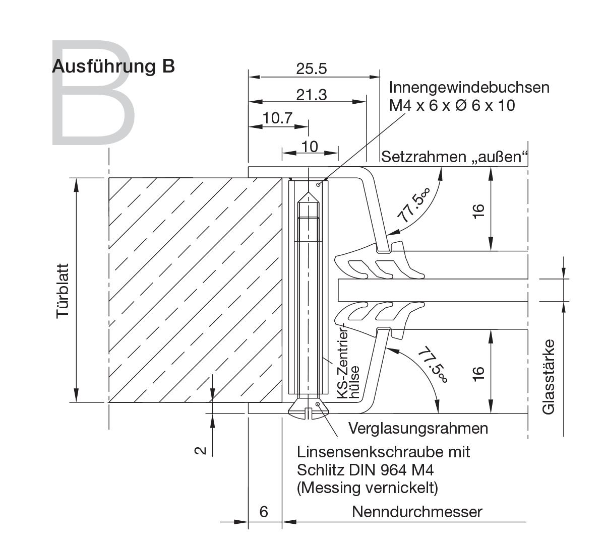 Bullaugen Aluminium Version B