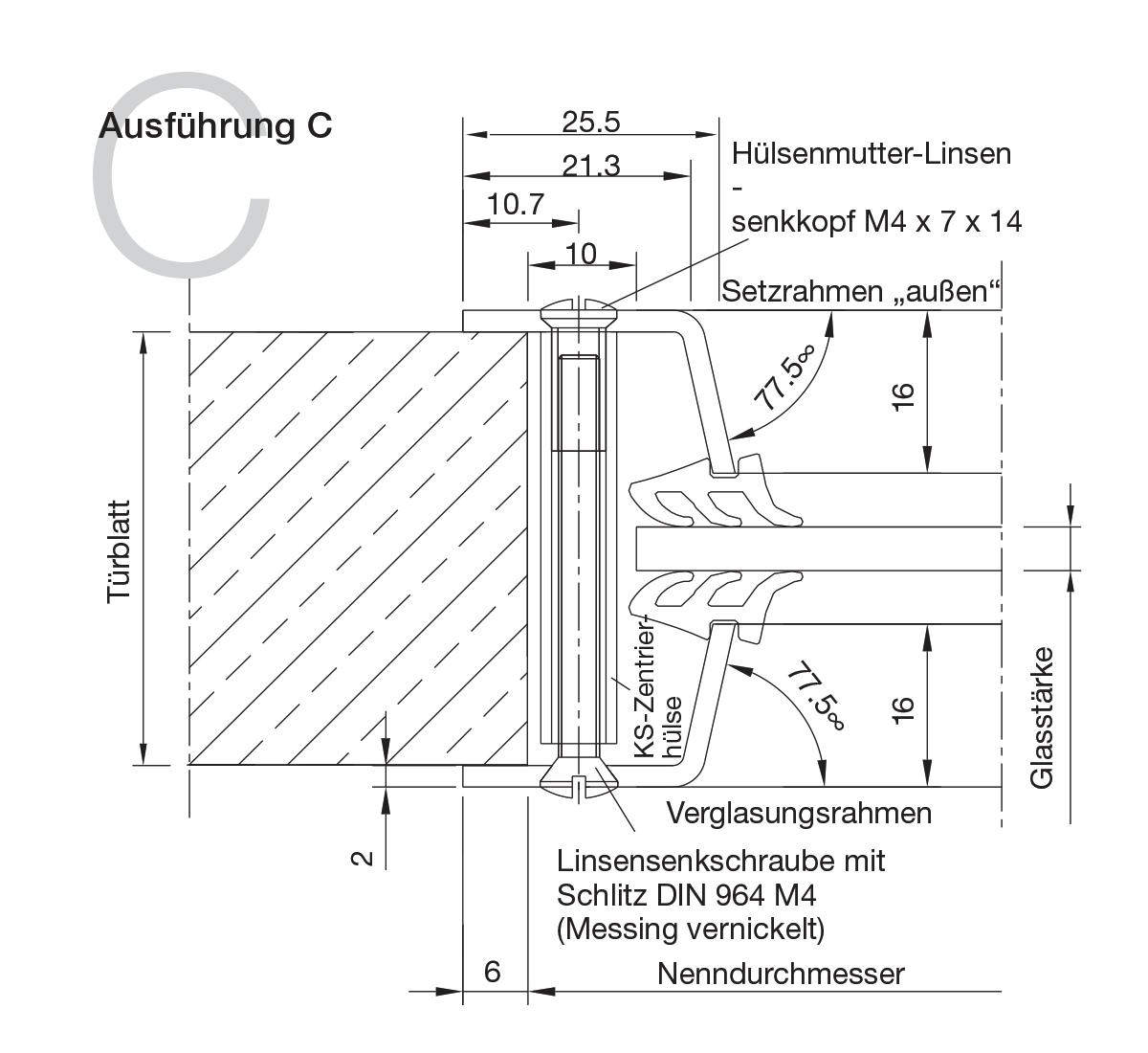 Bullaugen Aluminium Version C