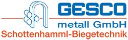 Gesco metall Biegetechnik